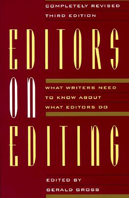 Editors on Editing By Gross, Gerald (EDT)
